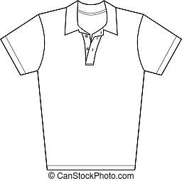 camisa del polo