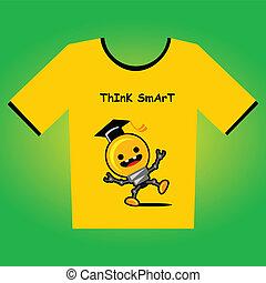 camiseta, diseño