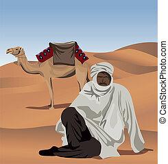 cammello, beduino
