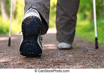 camminare, nordico