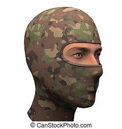 Camo Balaclava mask