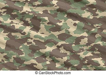 camo, camouflage, matériel