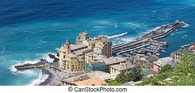 Camogli, aerial view