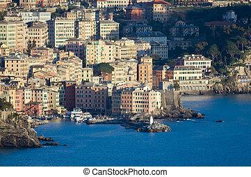 Camogli, panorama 2