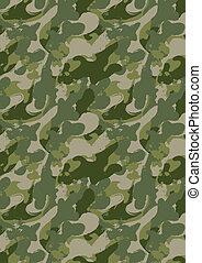 camouflage., ペンキ, スプラッター