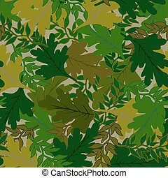 camouflage background leaves green