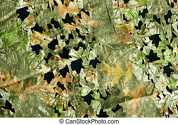 camouflage background pattern - leaf and bark camouflage...
