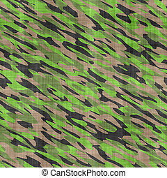 camouflage cloth