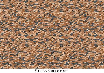 Camouflage Desert Brown Background