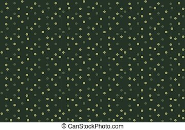 Camouflage dots background green seamless pattern