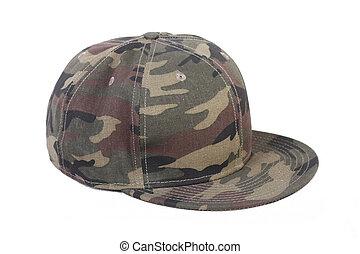 camouflage hip-hop rap cap