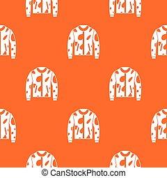 Camouflage jacket pattern seamless