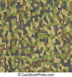 camouflage, materiaal