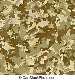 Camouflage military background. Abstract pattern. Vector...