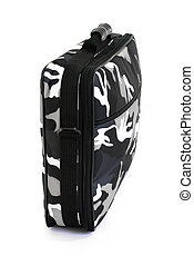 Camouflage military suitcase