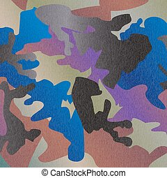 Camouflage pattern background clothing print