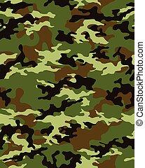 camouflage pattern seamless - Fashionable camouflage pattern...