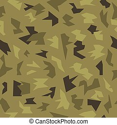 Camouflage seamless military pattern