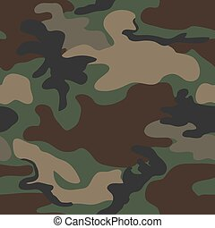 Camouflage seamless pattern - Camouflage seamless four...