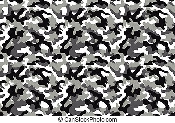 Camouflage seamless pattern - Camouflage background with a...