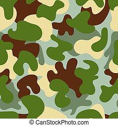 Camouflage seamless pattern.Woodland style