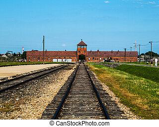 camp concentration, birkenau