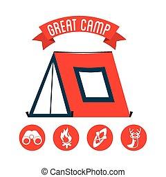 camp, grand