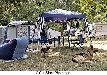 camp-site, posti vacanti