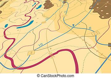 campagna, mappa