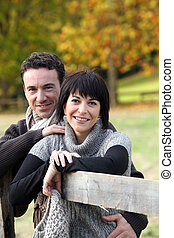 campagne, couple