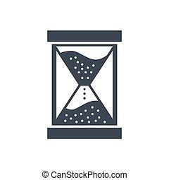 Campaign Timing Vector Glyph Icon