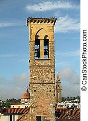 campanário, trindade, santissimo, igreja