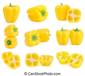 campana amarilla sazona pimienta