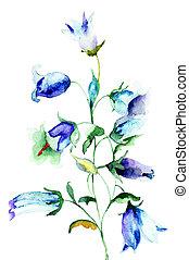 campana de flor