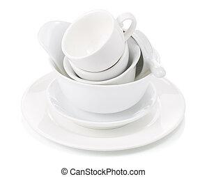 campanelle, pulito, piatti