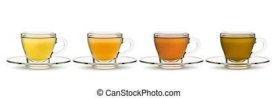 campanelle, tè