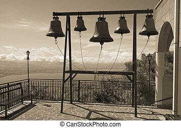 campanile, in, il, monastero, di, st., patapios