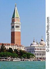 campanile, marco, italia, san, venecia