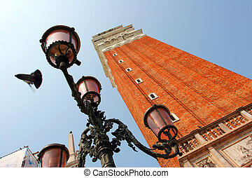 Campanile tower from Venice, Italy