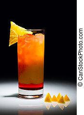 Campari Orange - Campari orange cocktail with slice of ...
