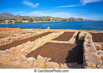 Campello iberian settlement in illeta Alicante - Campello...