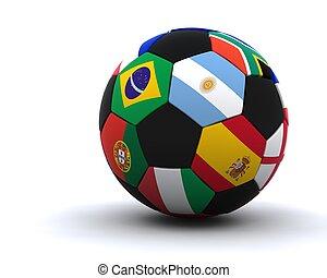 campeonato do mundo, futebol, 2010