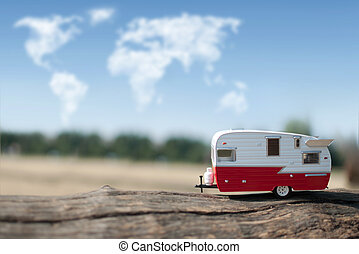 Camper van trip