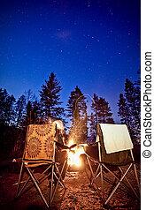 campfire, dokola