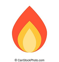 campfire wood flame icon