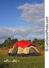 Campground in the Everglades, Big Cypress National Preserve