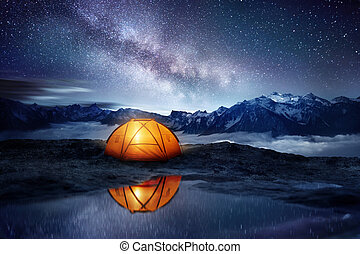 Camping Adventure Under The Stars