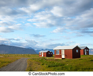 Camping cabins in Iceland