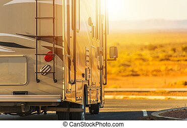camping car, camping car, voyage