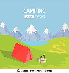 Camping Concept Item